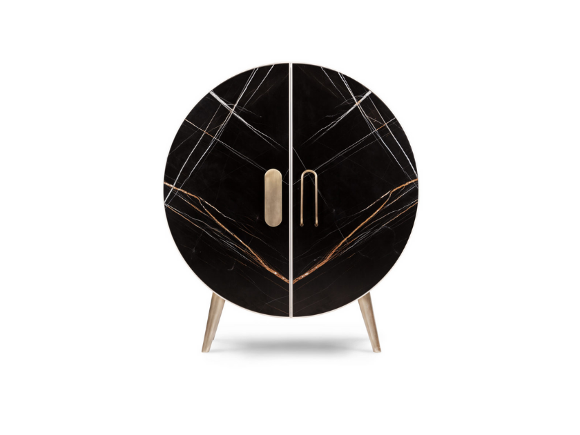 bongo-cabinet-black-marble-gold-details-for-luxury-bar-residential-project-circular-cabinet
