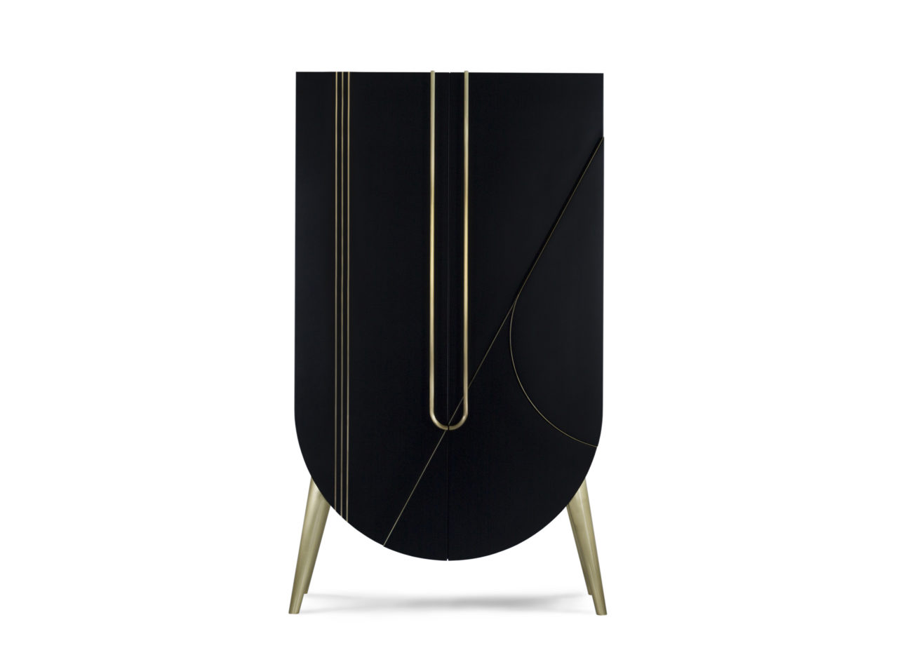 saqris-cabinet-black-marble-gold-details-for-luxury-bar-residential-project-circular-cabinet