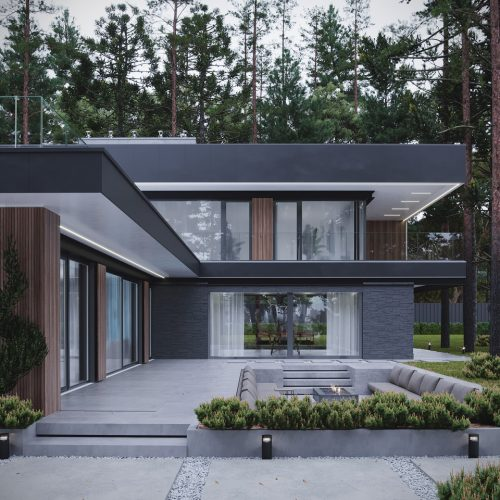 Modern Eco-House Project by Studio Autograph Ltd